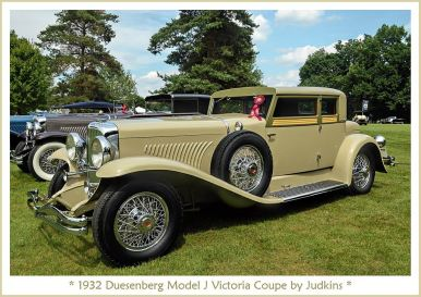 1932 Duesenberg Model J Victoria Coupe by Judkins