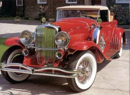 1932 Duesenberg roadster
