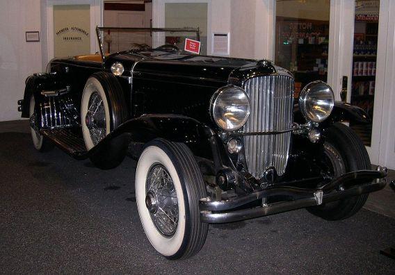 1932 Duesenberg SSJ J Murphy coupe convertible