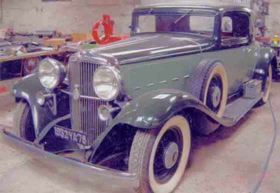 1932 Nash, Advanced Eight, Model 1092R, 4 Passenger, Rumbleseat Coupe