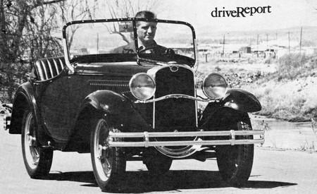 1933 American Austin Drive Report