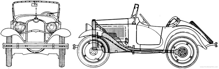1933 american austin-roadster-series