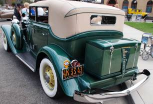 1933 Auburn 8-105 Salon Phaeton Sedan '4K 33 43' 7