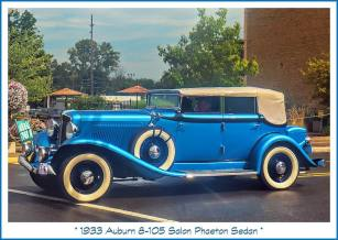 1933 Auburn 8-105 Salon Phaeton Sedan n