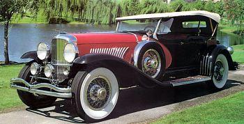 1933 Duesenberg dual phaeton by le baron