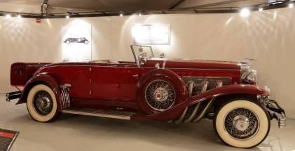 1933 Duesenberg SJ Convertible Coupe.