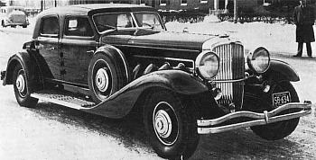 1933 Duesenberg sj twenty grand sedan