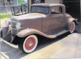 1933 Nash, Mdl. 1122R, Big Six Coupe