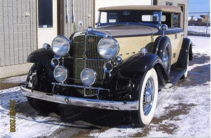 1933 Nash, Mdl. 1193, 8 cyl sedan