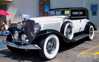 1934 Auburn 12 Four Door Convertible Sedan