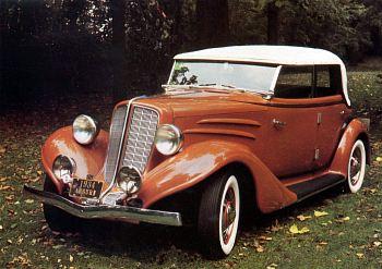 1934 Auburn 652y phaeton