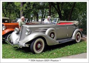 1934 Auburn 850Y Phaeton