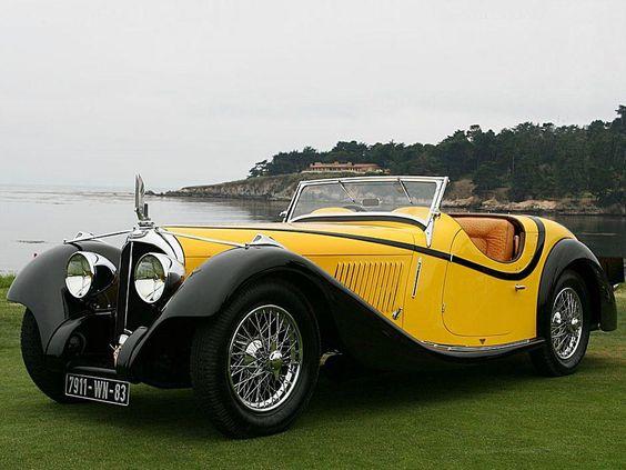 1934-Voisin C27 Figoni Cabriolet