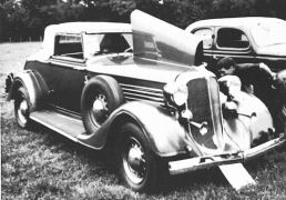 1934 Chrysler convertible