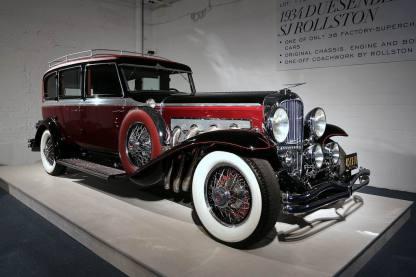 1934 Duesenberg SJ Berline Rollston 1