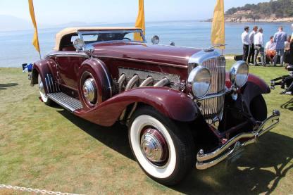 1934 Duesenberg SJ Convertible Coupe