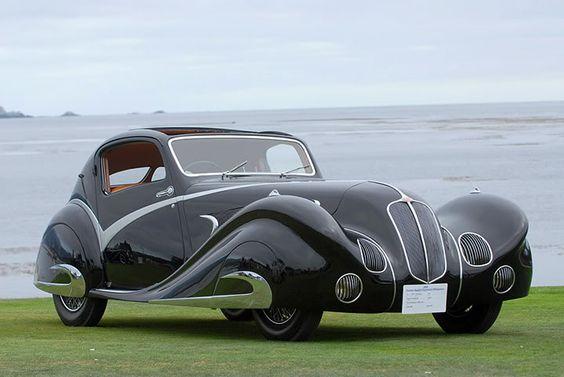 1934 Voisin C15 Saloit Roadster a