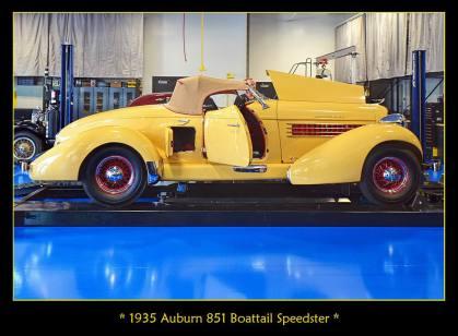 1935 Auburn 851 Boattail Speedster n