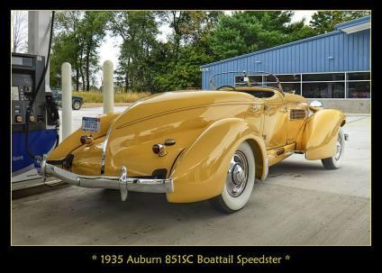 1935 Auburn 851SC Boattail Speedster 2