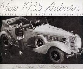 1935 Auburn ad'34