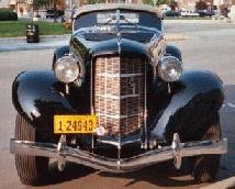 1935 Auburn Speedster Front
