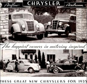 1935 Chrysler Airflow+Airstream