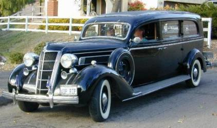 1935 Chrysler Three-Way Limousine Style Hearse by A.J. Miller a