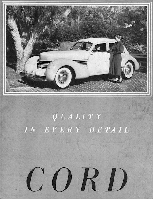 1935 Cord 810 Sedan