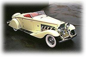 1935 Duesenberg mod. jn conw coupe