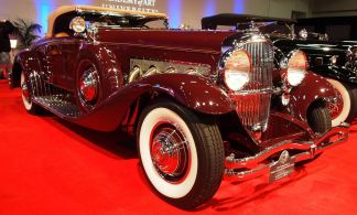 1935 Duesenberg Model SJ Convertible Coupe by Walker-LaGrande 4a
