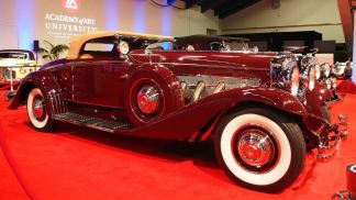 1935 Duesenberg Model SJ Convertible Coupe by Walker-LaGrande 5