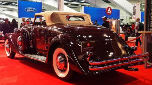 1935 Duesenberg Model SJ Convertible Coupe by Walker-LaGrande 8
