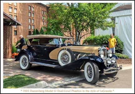 1935 Duesenberg Model SJ Dual-Cowl Phaeton