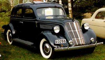 1935 Nash 3540 400 4-Door Sedan a