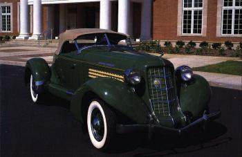 1936 Auburn 851 boattail