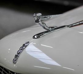 1936 Auburn 852 hood ornament