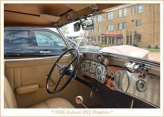 1936 Auburn 852 Phaeton -b