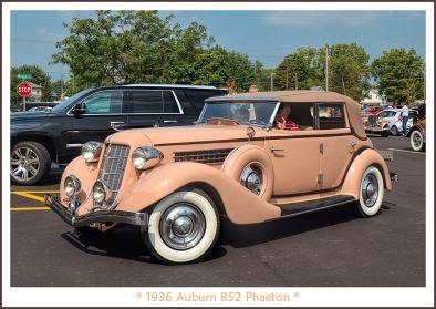 1936 Auburn 852 Phaeton