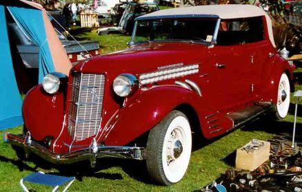 1936 Auburn 852 S C Phaeton