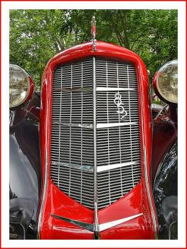 1936 Auburn 852 Supercharged Phaeton 8