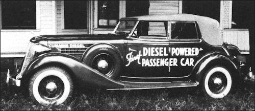 1936 Auburn diesel