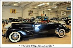 1936 Cord 810 Sportsman Cabriolet c
