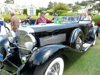 1936 Duesenberg JN Berline Rollston Convertible Coupe
