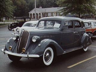 1936 Nash Ambassador, 6 cyl
