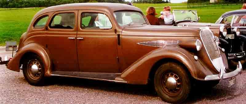 1936 Nash Ambassador Six 3620 4-Door Sedan