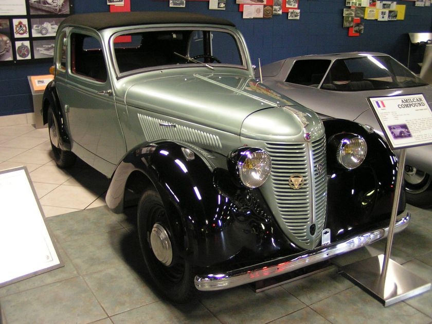 1937 Amilcar Compound