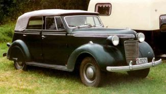 1937 Chrysler Convertible Sedan
