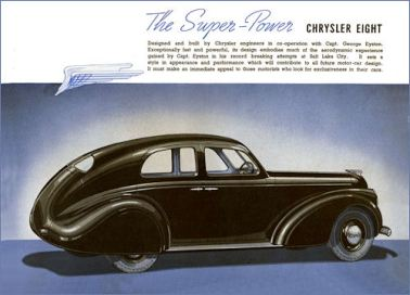 1937 Chrysler The New CHRYSLER SIXES AND EIGHTS