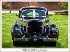 1937 Cord 812 Beverly Sedan j