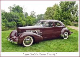 1937 Cord 812 Custom Beverly o